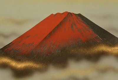Hanging Scroll Japanese Painting Mountain Landscape Asian Art Japan Picture v84