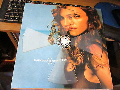 """Madonna-12"""" Vinyl Record-Picture Disc-Lp-Ray Of Light-Unplayed"""