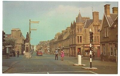 THURSO Town Centre, Old Postcard Unused, M&L National Series