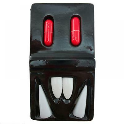 Funny Halloween Costume Zombie Party Vampire Fangs Blood Pill Teeth Props