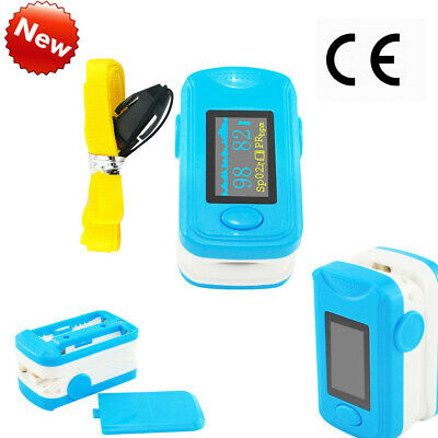 Handheld Blood Oxygen Finger Pulse Oximeter Oxymeter SPO2 PR  Monitor New Sale
