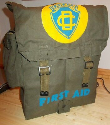 1957 Civil Defence First Aid bag