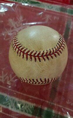2010 Philadelphia Phillies Game Used Baseball HISTORY Jamie Moyer Yankees MLB