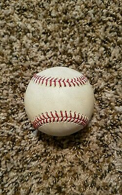 2015 Philadelphia Phillies Game Used Baseball Maikel Franco Yankees Steiner MLB