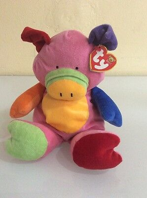 TY Baby Little Pig the Pig Stuffed Animal Toy Plush