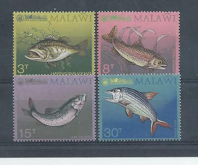 Malawi - 1974 - 35th Anniversary of the Angling Society - Un-mounted Mint set
