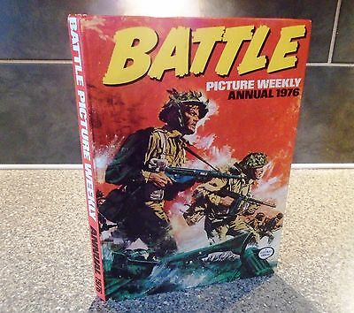 Battle Picture Weekly Annual 1976-Lovely Condition