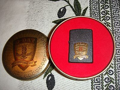 Zippo D-Day 50th Anniversary Normandy in limited edition tin 1994 new unused!