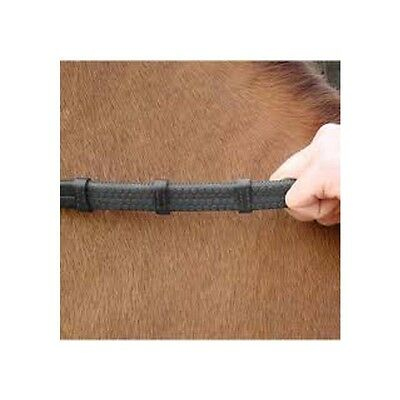 AMERIGO Hand Grip Rubber Reins In Black One Size
