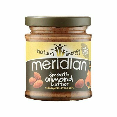 Meridian | Smooth Almond Butter With A Pinch of Salt | 1 x 270g