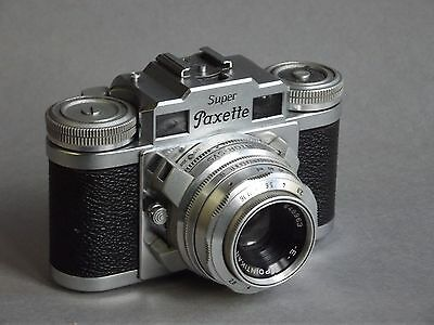 Super Paxette with 50 and 85mm lenses