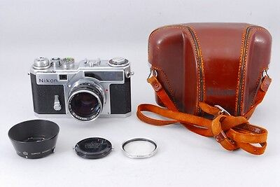 [NEAR MINT] Nikon SP 35mm Rangefinder with Nikkor-S 50mm F/1.4 from japan #970
