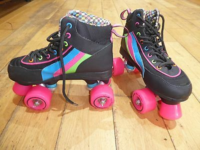 SFR Rio Roller Skates Size UK 4 GREAT CONDITION-