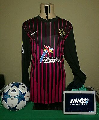 Camiseta Hercules CF (FALCÓN 25) GOALKEEPER Match worn shirt Football Futbol LFP