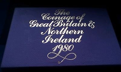 Royal Mint Coinage of Great Britain & Northern Ireland Proof Set 1980