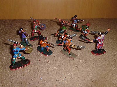 plastic toy soldiers chinese  boxers 1/32