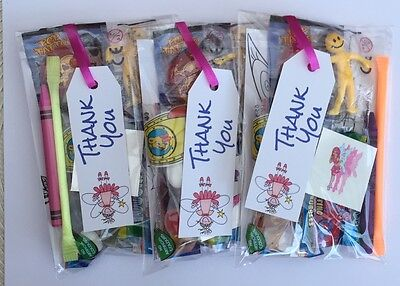 Girls bags ,pre filled sweets toys, puzzle girls, party fillers,great value
