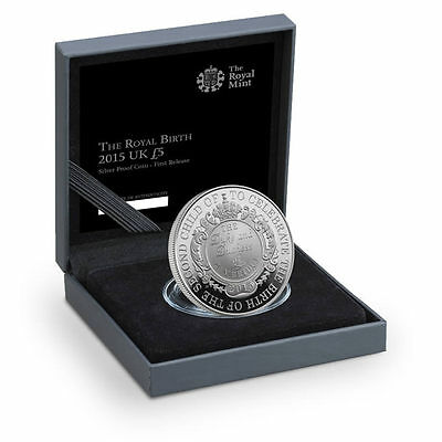 The Royal Mint Royal Birth 2015 United Kingdom £5 Silver Proof Coin - UKRB15SP
