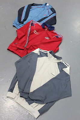VINTAGE WHOLESALE 80's 90's 00's Adidas Track Top Mix x 25