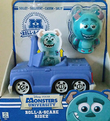 MONSTERS UNIVERSITY ROLL A SCARE RIDEZ Sulley car - Disney Pixar INC