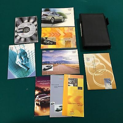 2004 Audi A8 Owners Manual  with Disc