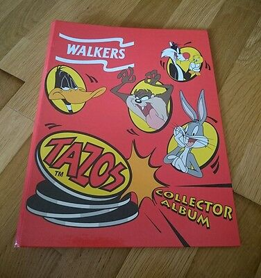 Retro Walkers Looney Tunes collectors album+52 tazos. Great vintage Retro game