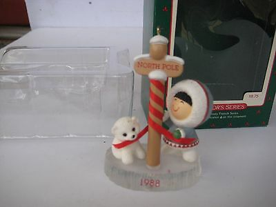Frosty Friends 1988 Hallmark Keepsake Ornament