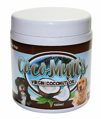 CocoMutts Virgin Coconut Oil For Dogs & Cats 500ml