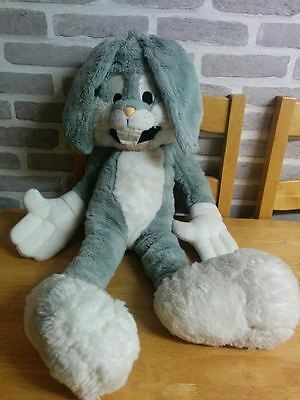 """Huge approx 40"""" Bugs Bunny soft toy, official Warner Bros. studio store"""