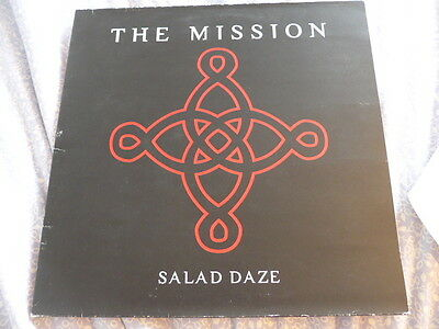 The Mission - Salad Daze - LP - Original 1994 The sisters of mercy