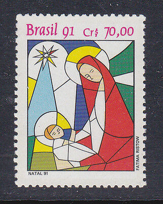 Brazil Stamp 1991 Mnh - Nativity