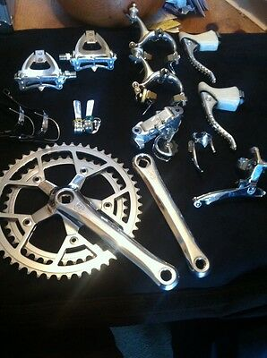 Vintage Campagnolo Victory Groupset - Stunning !!!! Eroica , New Old Stock