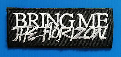 BRING ME THE HORIZON BAND Embroidered Easy Iron/Sewn On Patch Free Ship