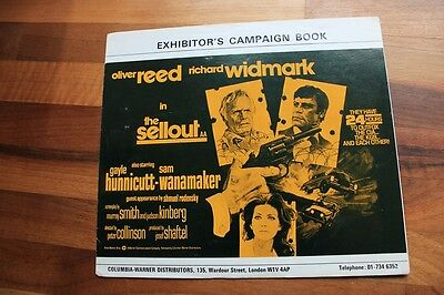 The Sellout - Oliver Reed - Original Uk  Pressbook