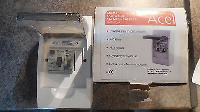 Europa (ACEL) RCD and circuit breaker consumer unit