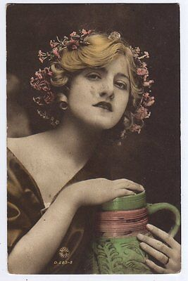Ivy Close - Actress Rotary Photo Theatrical Postcard 1920