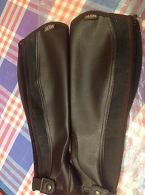 SAXON Horse Riding Chaps, Size Small, BN