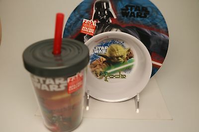 Star Wars, Plate, Bowl & Cup.