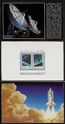 Australia 1968 Aussat Communications Satellites Post Office Pack, Scott 972-973