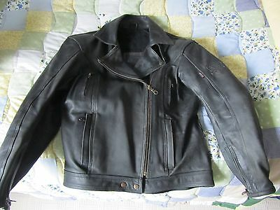 Frank Thomas Ladies Club Classic Motorcycle Leather Jacket