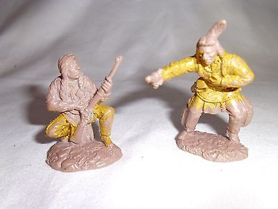 plastic toy soldiers TSSD red indians 1/32
