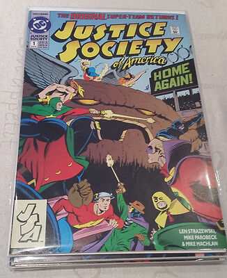 JUSTICE SOCIETY OF AMERICA-1992-Série Complète