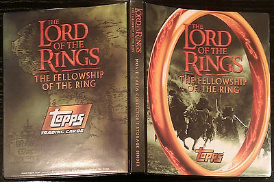 Lord of the Rings - The Fellowship of the Ring (Topps Trading Cards) complete