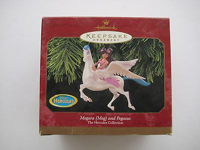 Hallmark Keepsake Ornaments Megara Meg and Pegasus