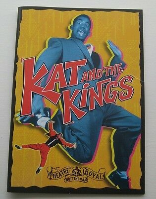 1998 Kat and the Kings Nottingham Theatre Royal programme