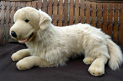 Animal Alley Large Soft Cuddly Golden Retriever Puppy Dog Stuffed Plush Toy 25'
