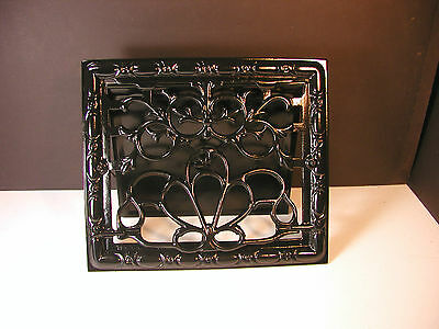 Vintage SYMONDS Refurbished Iron Wall Register Vent Grate - Beautiful