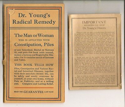 Dr. Young's Rectal Dilator's Instruction Pamphlet with Testimonials & Guarantee