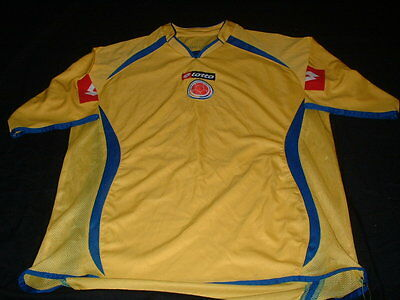 Columbia Columbiana South America Soccer Football Large Mans Vintage Jersey