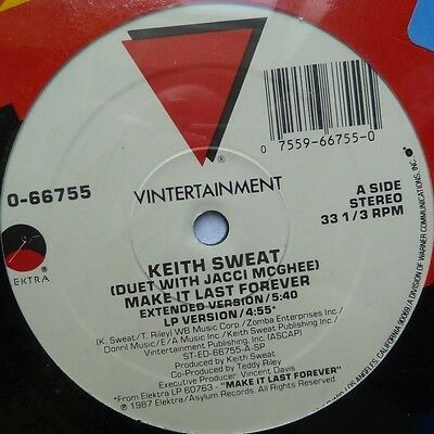 "Keith Sweat - Make It Last Forever - 12"" Vinyl"